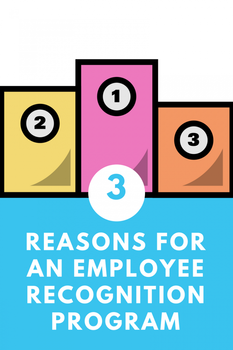 3 Reasons for Having an Employee Recognition Program