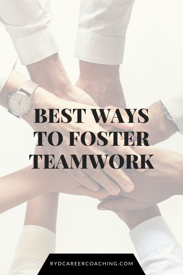 Best Ways to Foster Teamwork