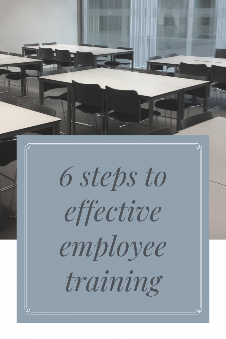 How to Deliver Effective Employee Training in 6 Easy Steps