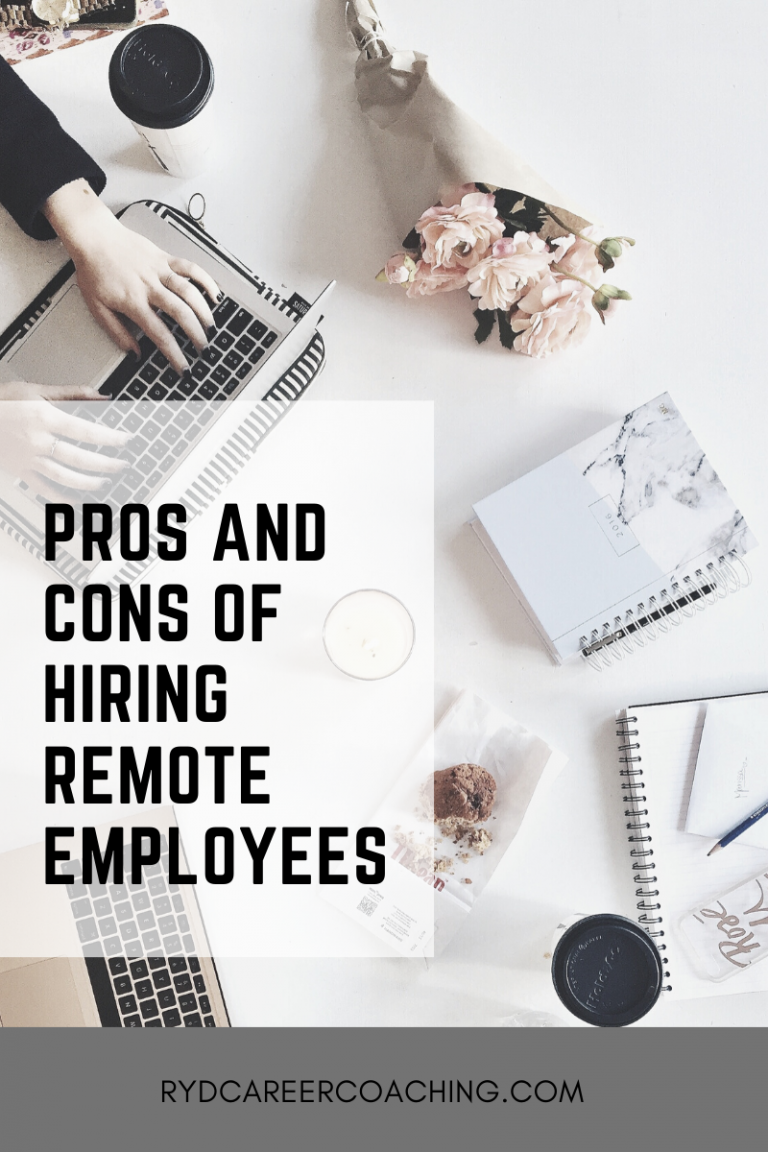 Pros And Cons Of Hiring Remote Employees