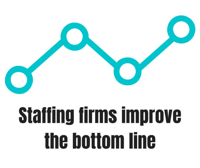 Staffing Firms Improve the Bottom Line with Savings or Increased Production