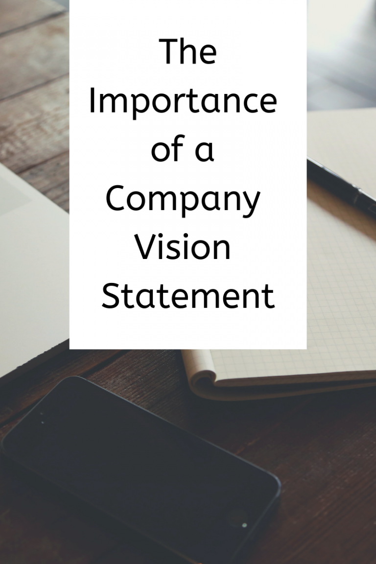 Importance of a Company Vision Statement