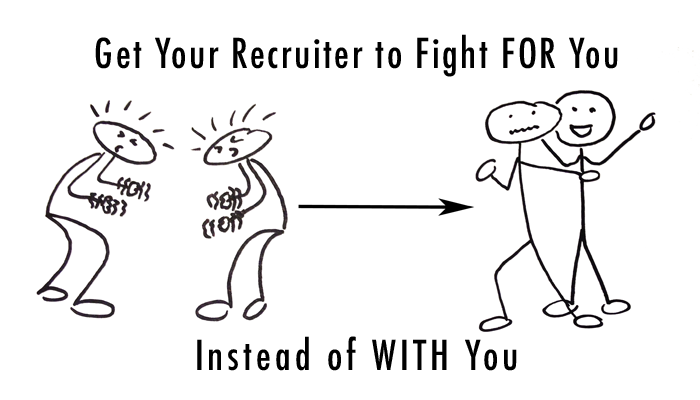 Get Your Recruiter to Fight FOR You Instead of WITH You | RYD