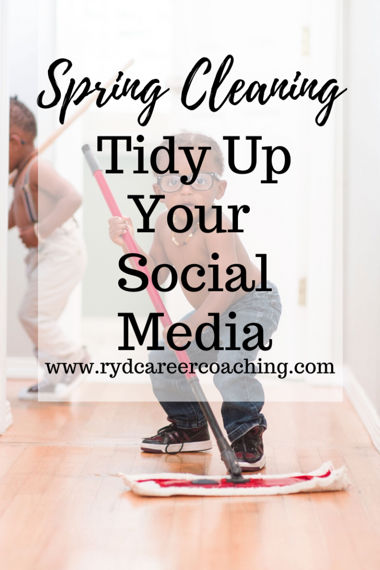 Spring Cleaning: Tidy Up Your Social Media