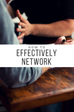 Making Connections: How to Effectively Network