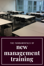 The Fundamentals of New Management Training