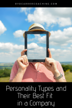 Personality types and their best fit in a company
